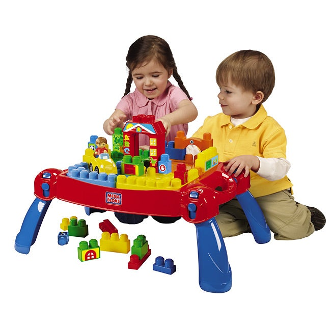 Mega Bloks Play'n Go Table Set - Thumbnail 0