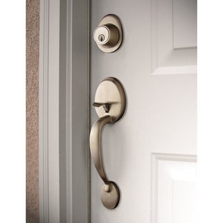 Sure-Loc Alta Satin Nickel Front Entry Handle Set