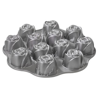 Nordic Ware Sweetheart Rose Muffin Baking Pan
