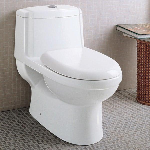 Ariel Platinum 'Anna' Dual Flush toilet. Opens flyout.