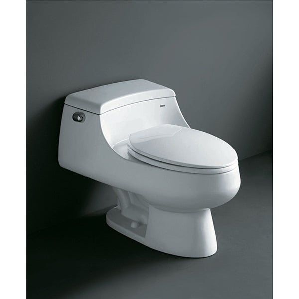 Royal Co 1013 Celeste Single Flush Toilet Free