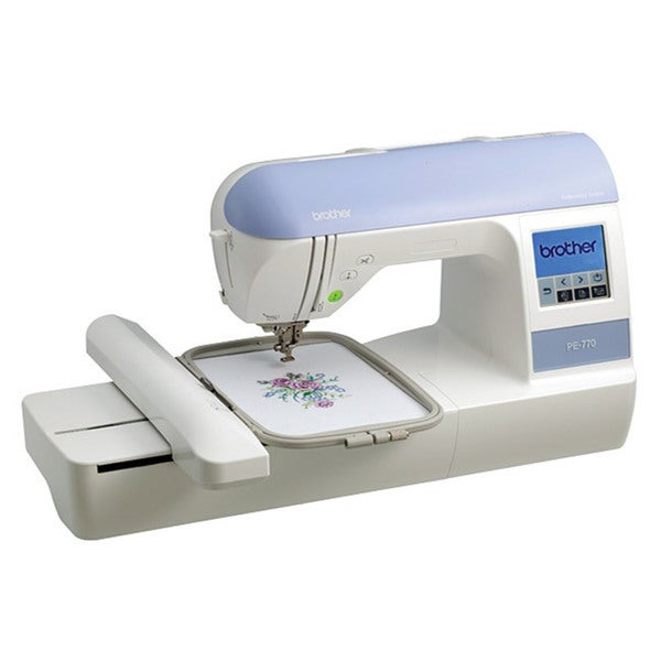 Shop Brother PE40 Embroidery Sewing Machine Free Shipping Today Amazing Sewing Machine Cyber Monday