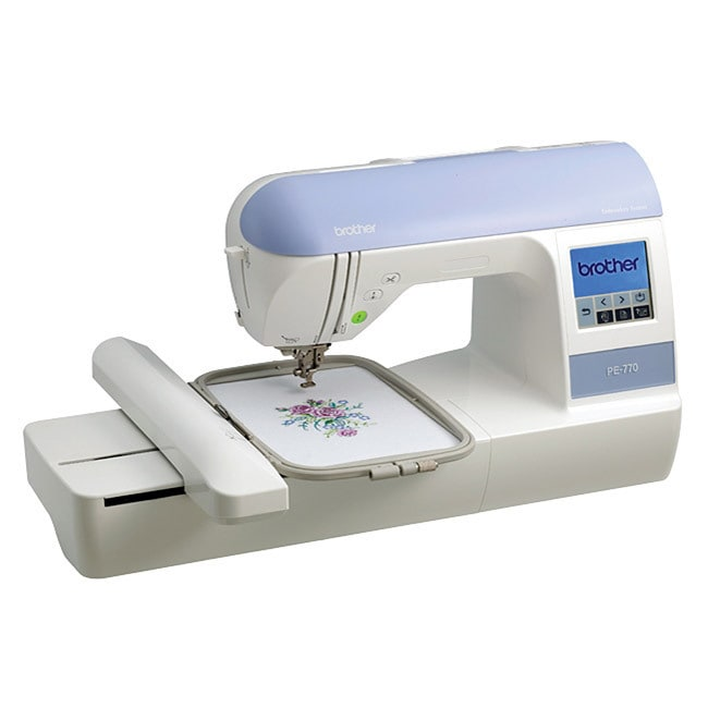 Brother PE770 Embroidery Sewing Machine (PE770 Embroidery...