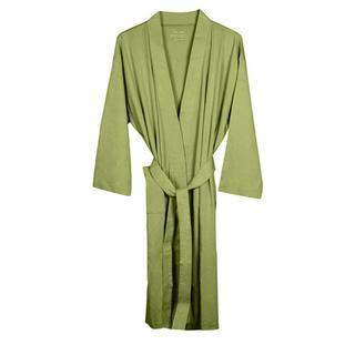 Women's Sage Organic Cotton Bath Robe