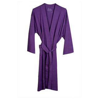 Women's Purple Organic Cotton Bath Robe
