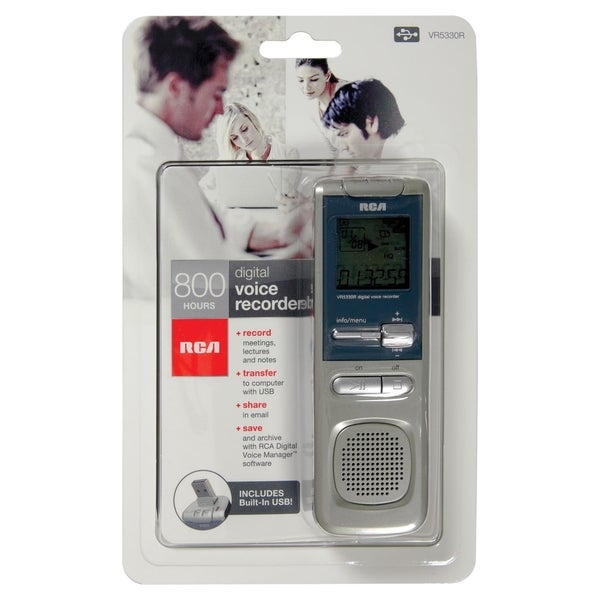 RCA VR5330R 2GB Digital Voice Recorder