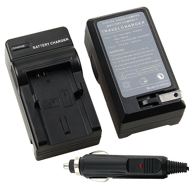 Insten Compact Battery Charger Set for Sony NP-FW50 - Thumbnail 0