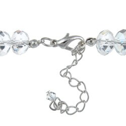 Crystale Crystal and Glass Bead Necklace - Thumbnail 1