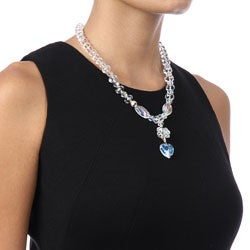Crystale Crystal and Glass Bead Necklace - Thumbnail 2