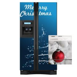 Appliance Art Christmas Tree Combo Refrigerator/ Dishwasher Cover