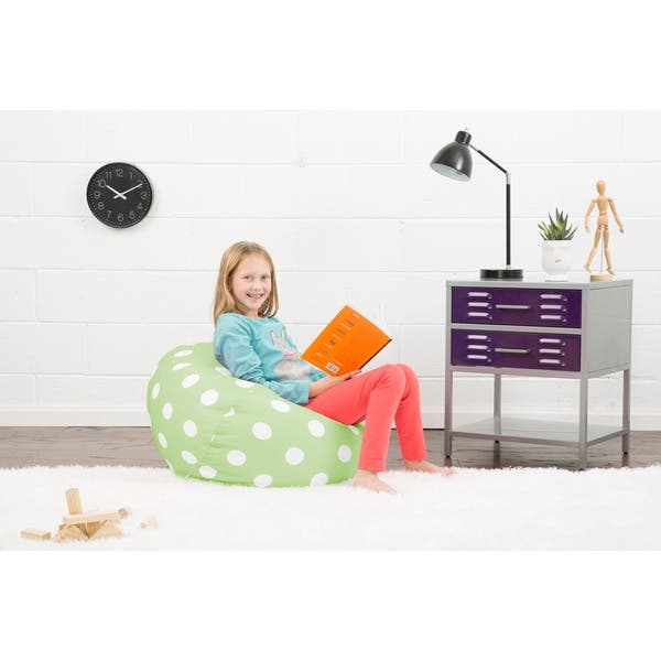 Awesome Shop Big Joe Classic 88 Inch Purple W White Dots On Sale Forskolin Free Trial Chair Design Images Forskolin Free Trialorg