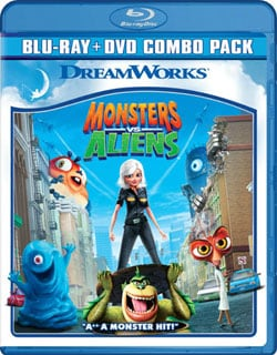 Monsters Vs. Aliens (Blu-ray/DVD)