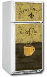 Appliance Art Caffe Refrigerator Cover - Thumbnail 2