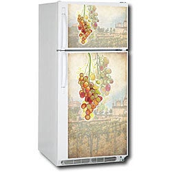 Appliance Art Tuscan Grapes Refrigerator Cover - Thumbnail 1