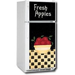Appliance Art Apple Bowl Refrigerator Cover