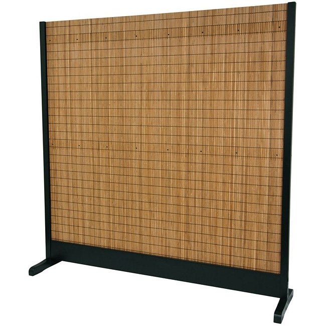 Tobacco and Bamboo Standalone Light-diffusing Room Divider (China)