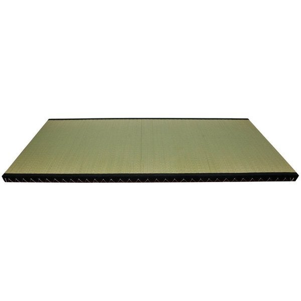 Handmade Rush Grass Full-size Fiber-fill Tatami Mat (China)