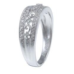 10k White Gold 1/3ct TDW Diamond Ring