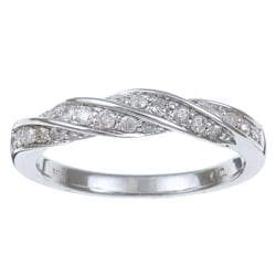 10k White Gold 2/5ct TDW Diamond Ring