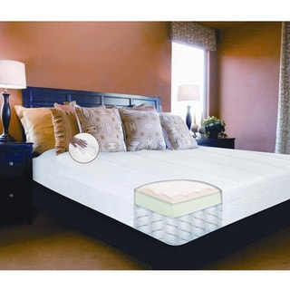 Comfort Memories 12-inch Twin-size Memory Foam and Spring Mattress