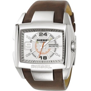 Diesel Men's DZ1273 'Bugout' Brown Leather Watch