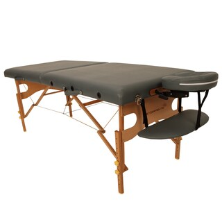Ironman Fairfield Brown/Grey Wood/Foam Massage Table