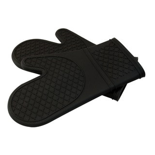 Le Chef Ultra-flex Silicone Padded Kitchen Oven Mitt Set (Pack of 2)