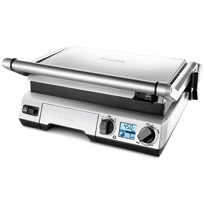 Breville BRG820XL Stainless Steel Smart Electric Grill (B...