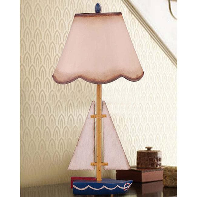 Sailboat Table Lamp : Kid s sailboat table lamp free shipping today