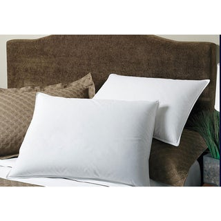 Hypoallergenic 300 Thread Count Cotton Primaloft Pillows (Set of 2)