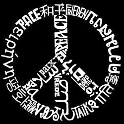 Los Angeles Pop Art Girl's Peace Symbol T-shirt