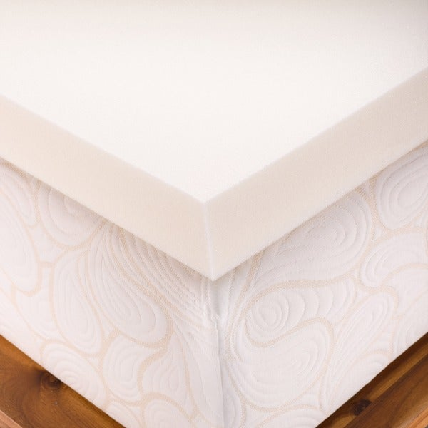 authentic comfort 3inch memory foam mattress topper free shipping today