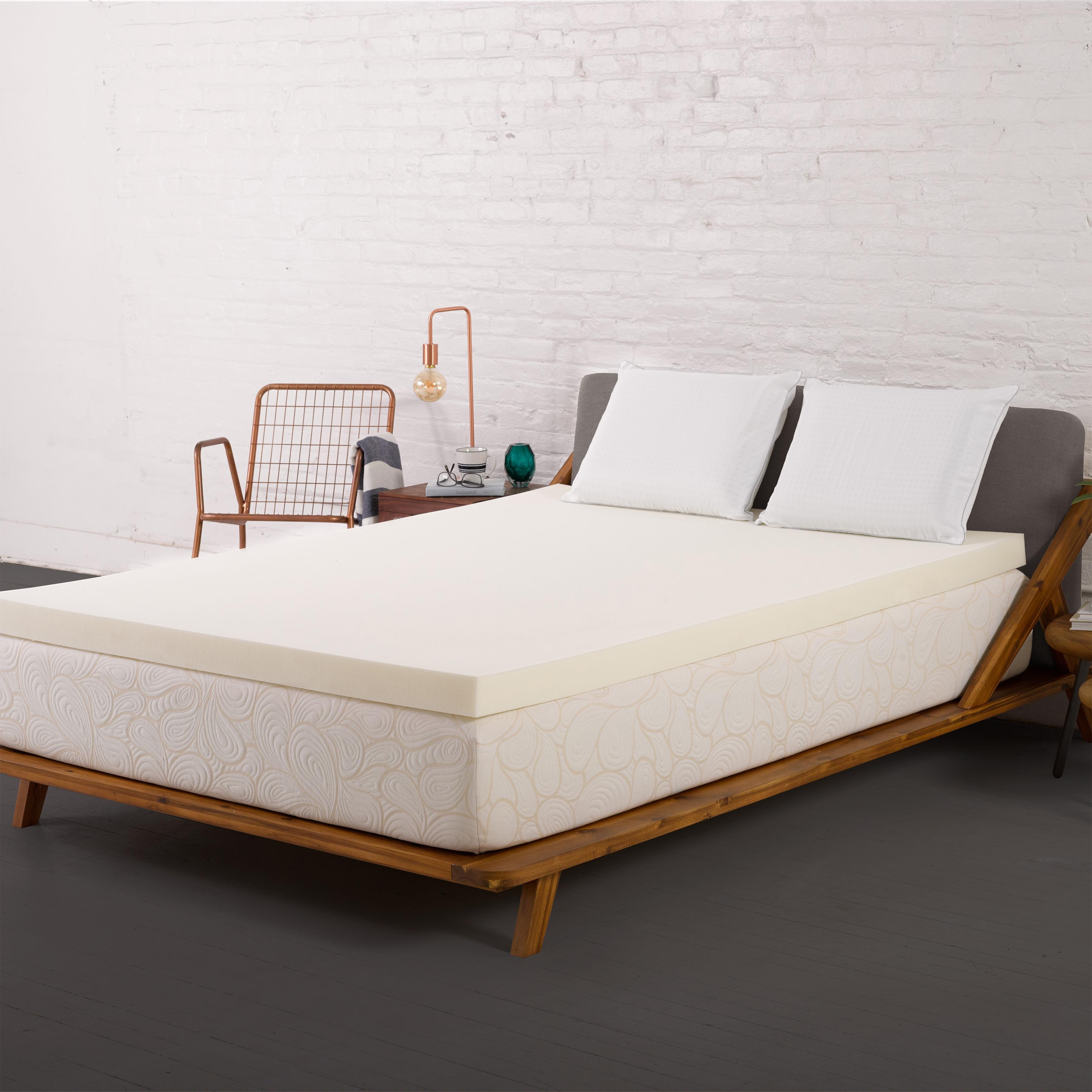 Authentic Comfort 3-inch Memory Foam Mattress Topper (Cal...