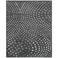 Safavieh Handmade Soho Abstract Wave Dark Grey Wool Rug - 8'3 x 11'