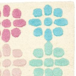 Safavieh Handmade Soho Eternity Ivory New Zealand Wool Rug (2' x 3') - Thumbnail 1