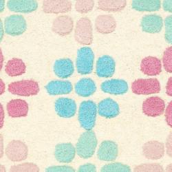 Safavieh Handmade Soho Eternity Ivory New Zealand Wool Rug (2' x 3') - Thumbnail 2