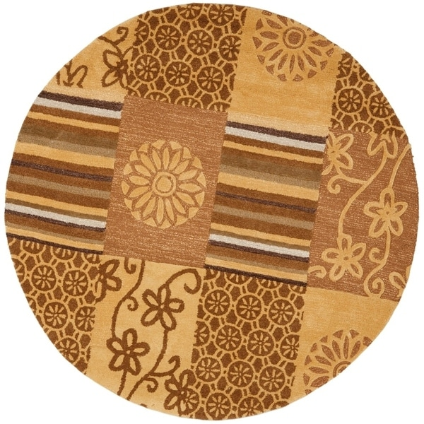 Safavieh Handmade Soho Trixi Patchwork N.Z. Wool Rug
