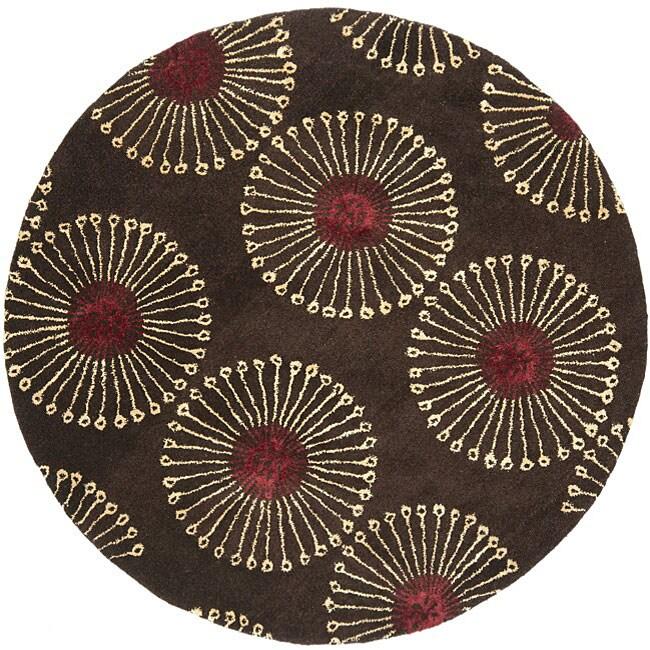 Safavieh Handmade Soho Zen Coffee Brown New Zealand Wool