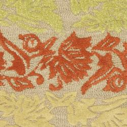 Safavieh Handmade Soho Passage Sage New Zealand Wool Rug (2' x 3')
