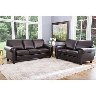 Leather Living Room Furniture   Shop The Best Deals For Oct 2017    Overstock.com
