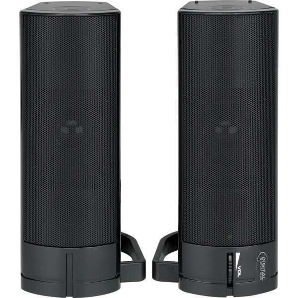 Digital Innovations AcoustiX 4330200 2.0 Speaker System - 3 W RMS - P