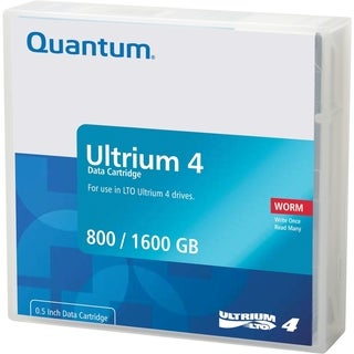 Quantum LTO Ultrium 4 WORM Tape Cartridge