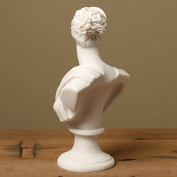 White Bonded Marble Diana Classical Bust - Thumbnail 1