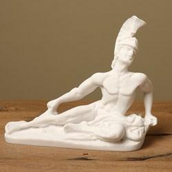 Classic White Bonded-marble Replica Achilles Decorative Statue