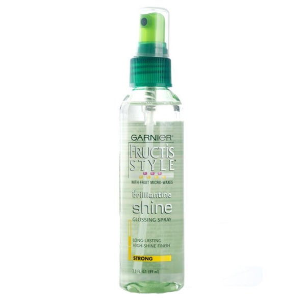 Garnier Brilliantine Shine Strong Gloss 3-ounce Spray (Pack of 4)