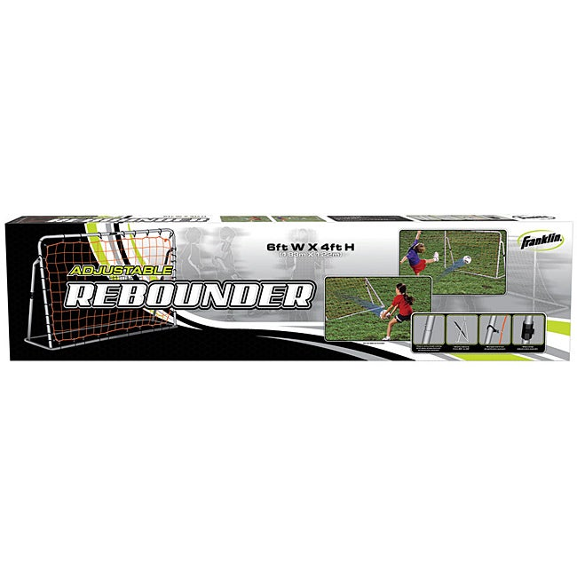 Adjustable Kids' Soccer Rebounder Net
