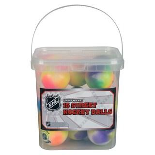 NHL Extreme Color High Density Street Hockey Balls (Case of 15)