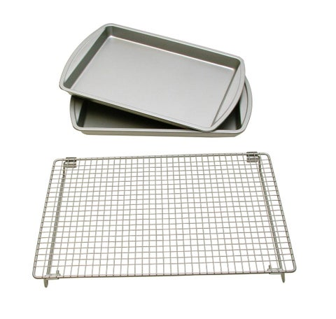 Le Chef Basic Baking Sheets and Cooling Rack Set