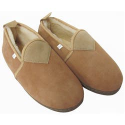 Amerileather Unisex Sheepskin Slippers|https://ak1.ostkcdn.com/images/products/5314749/Amerileather-Unisex-Low-Top-Sheepskin-Slippers-P13122603a.jpg?impolicy=medium