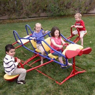Lifetime Ace Flyer Multi-color Airplane Outdoor Teeter-totter
